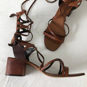 Zara Boho Gladiator Sandal 9